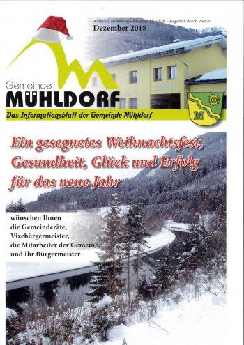 Gemeindezeitung Winter 2018