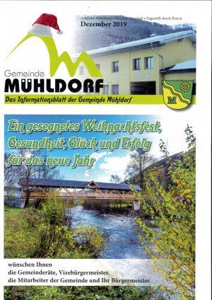 Gemeindezeitung Winter 2019
